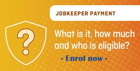 JobKeeper enrol now