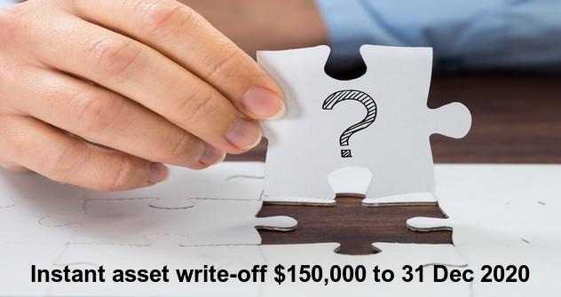 Instant Asset writeoff