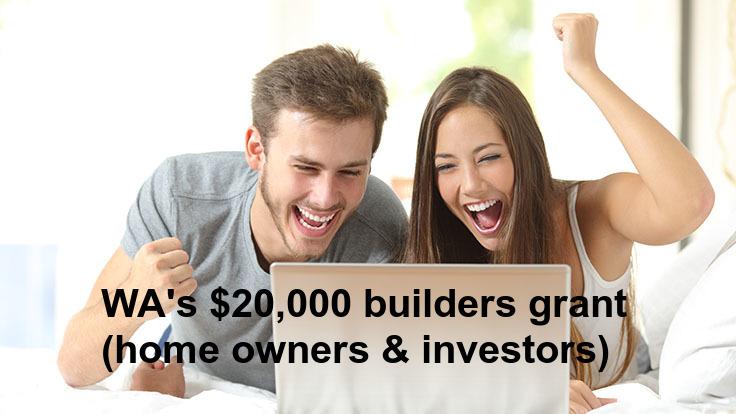 WA builders grant