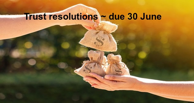 Trust resolutions