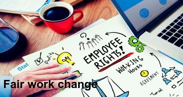 Fairwork change